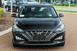 2021 Hyundai i30 PD.V4 MY21 Elite Phantom Black 6 Speed Sports Automatic Hatchback.
