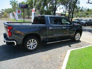 2021 Chevrolet Silverado Shadow Grey Utility.