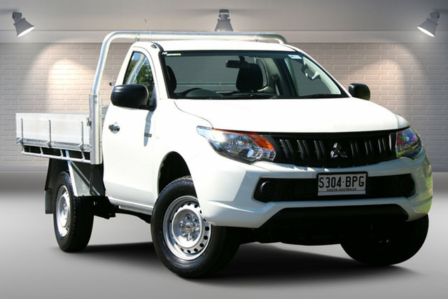 Used Mitsubishi Triton MQ MY17 GLX 4x2 Nailsworth, 2017 Mitsubishi Triton MQ MY17 GLX 4x2 White 6 Speed Manual Cab Chassis