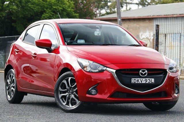 Used Mazda 2 DJ2HAA Genki SKYACTIV-Drive Homebush, 2016 Mazda 2 DJ2HAA Genki SKYACTIV-Drive Red 6 Speed Sports Automatic Hatchback