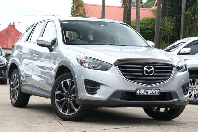 Pre-Owned Mazda CX-5 MY17 GT (4x4) Mosman, 2016 Mazda CX-5 MY17 GT (4x4) Sonic Silver 6 Speed Automatic Wagon