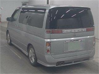 2004 Nissan Elgrand E51 Rider S Silver Automatic Wagon.