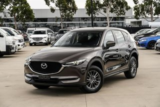 2017 Mazda CX-5 KF2W7A Maxx SKYACTIV-Drive FWD Sport Brown 6 Speed Sports Automatic Wagon.