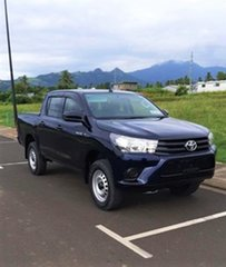 Toyota Hilux Standard Dark Blue Mica Manual.