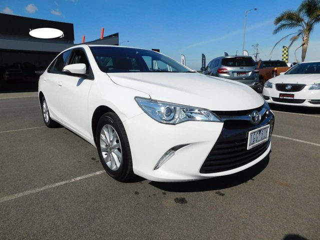 Pre-Owned Toyota Camry ASV50R Altise Wonthaggi, 2015 Toyota Camry ASV50R Altise White 6 Speed Sports Automatic Sedan