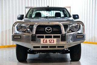 2017 Mazda BT-50 MY16 XT (4x4) Silver 6 Speed Manual Cab Chassis