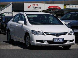 2006 Honda Civic 8th Gen VTi-L White Manual Sedan.
