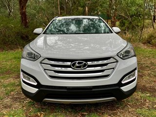 2015 Hyundai Santa Fe DM2 MY15 Active Creamy White 6 Speed Sports Automatic Wagon