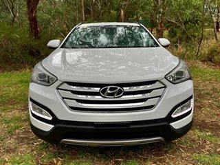 2015 Hyundai Santa Fe DM2 MY15 Active Creamy White 6 Speed Sports Automatic Wagon