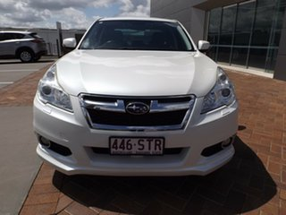 2012 Subaru Liberty B5 MY13 2.5X Lineartronic AWD White 6 Speed Constant Variable Sedan