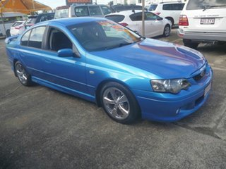 2003 Ford Falcon BA XR6 Turbo Blue 4 Speed Sports Automatic Sedan.
