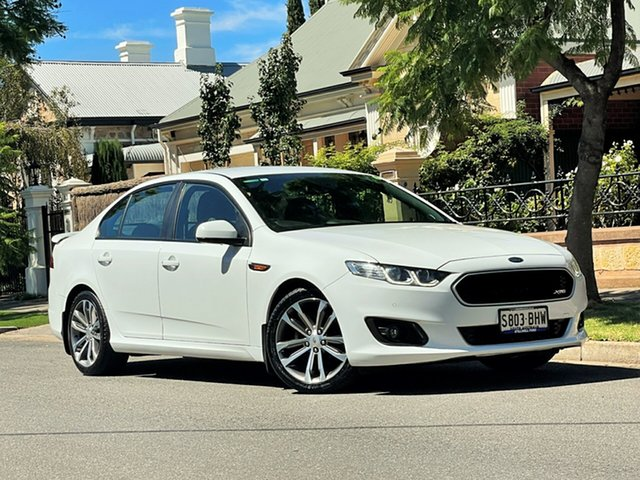 Used Ford Falcon FG X XR6 Hyde Park, 2015 Ford Falcon FG X XR6 White 6 Speed Sports Automatic Sedan