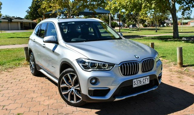 Used BMW X1 F48 xDrive20d Steptronic AWD Ingle Farm, 2015 BMW X1 F48 xDrive20d Steptronic AWD Silver 8 Speed Sports Automatic Wagon