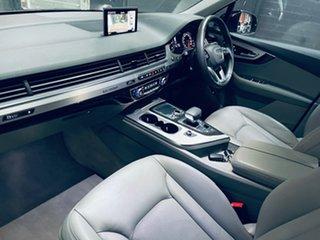 2016 Audi Q7 4M MY17 TDI Tiptronic Quattro Blue 8 Speed Sports Automatic Wagon