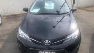 2013 Toyota Corolla ZRE182R Ascent Sport S-CVT Black Sand Pearl 7 Speed Constant Variable Hatchback.