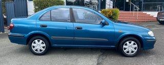 2001 Nissan Pulsar N16 ST Blue 4 Speed Automatic Sedan.