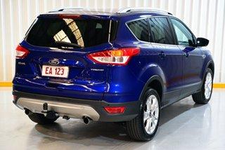 2015 Ford Kuga TF MY15 Trend AWD Blue 6 Speed Sports Automatic Wagon