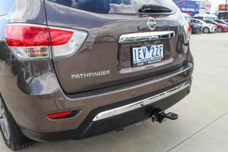 2015 Nissan Pathfinder R52 MY15 ST X-tronic 2WD Brown 1 Speed Constant Variable Wagon.