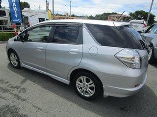 2012 Honda Fit SHUTTLE Silver Wagon.