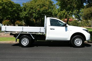 2017 Mitsubishi Triton MQ MY17 GLX 4x2 White 6 Speed Manual Cab Chassis