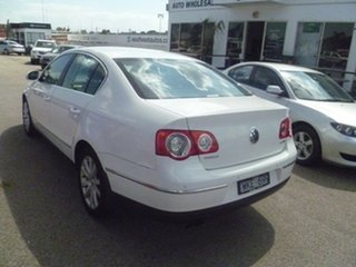 2008 Volkswagen Passat Type 3C MY08 TDI DSG White 6 Speed Sports Automatic Dual Clutch Sedan
