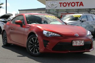 2017 Toyota 86 ZN6 GT Red 6 Speed Manual Coupe.