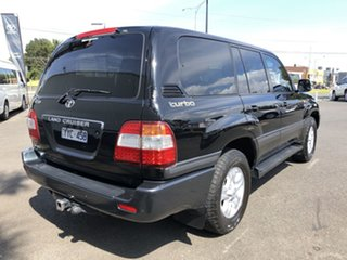 2005 Toyota Landcruiser HDJ100R Upgrade Sahara (4x4) Ebony 5 Speed Automatic Wagon