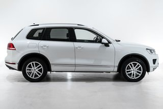 2016 Volkswagen Touareg 7P MY16 150TDI Tiptronic 4MOTION Element White 8 Speed Sports Automatic