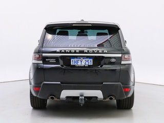 2015 Land Rover Range Rover LW MY15.5 Sport 3.0 SDV6 HSE Black 8 Speed Automatic Wagon