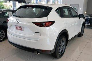 2021 Mazda CX-5 KF4W2A Touring SKYACTIV-Drive i-ACTIV AWD White 6 Speed Sports Automatic Wagon.