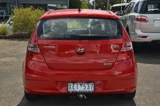 2009 Hyundai i30 FD MY09 SLX Red 4 Speed Automatic Hatchback.