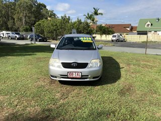 2003 Toyota Corolla ZZE122R Ascent Silver 4 Speed Automatic Wagon.