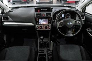 2015 Subaru Impreza G4 MY15 2.0i AWD Black 6 Speed Manual Hatchback.