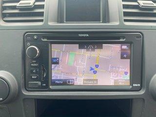 2012 Toyota Kluger GSU40R KX-R Silver Sports Automatic SUV.