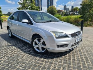 2006 Ford Focus LS LX Silver 4 Speed Sports Automatic Hatchback.