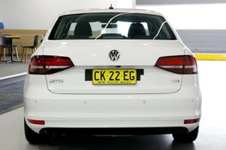 2016 Volkswagen Jetta 1KM MY17 118 TSI Trendline White 7 Speed Auto Direct Shift Sedan