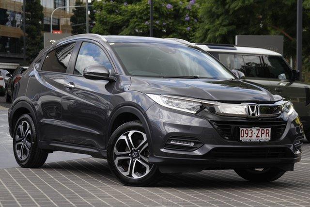 Used Honda HR-V MY19 VTi-LX Newstead, 2019 Honda HR-V MY19 VTi-LX Grey 1 Speed Constant Variable Hatchback