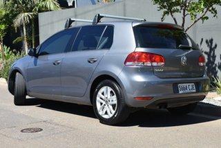 2009 Volkswagen Golf VI MY10 118TSI DSG Comfortline Grey 7 Speed Sports Automatic Dual Clutch.