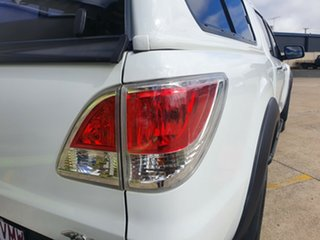 2014 Mazda BT-50 UP0YF1 GT Cool White 6 Speed Manual Utility