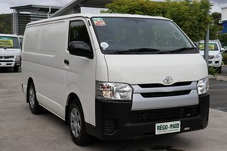 Toyota HiAce KDH201R LWB White 4 speed Automatic Van.