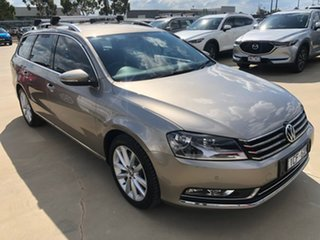 2014 Volkswagen Passat Type 3C MY15 130TDI DSG Highline Brown 6 Speed Sports Automatic Dual Clutch