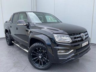 2019 Volkswagen Amarok 2H MY19 TDI580 4MOTION Perm Ultimate Black 8 Speed Automatic Utility