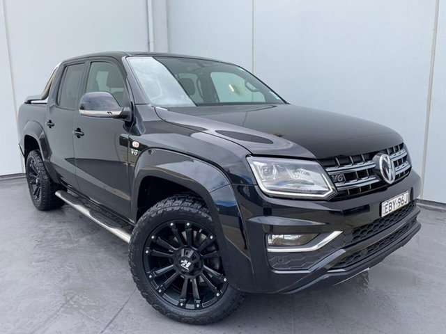Used Volkswagen Amarok 2H MY19 TDI580 4MOTION Perm Ultimate Liverpool, 2019 Volkswagen Amarok 2H MY19 TDI580 4MOTION Perm Ultimate Black 8 Speed Automatic Utility