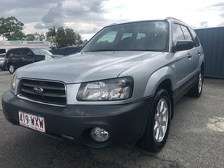 2003 Subaru Forester 79V MY04 X AWD Silver 5 Speed Manual Wagon
