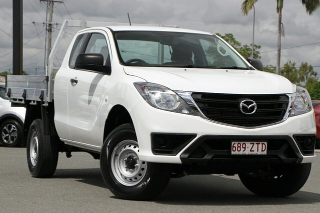 Used Mazda BT-50 UR0YG1 XT Freestyle Rocklea, 2019 Mazda BT-50 UR0YG1 XT Freestyle Cool White 6 Speed Sports Automatic Cab Chassis