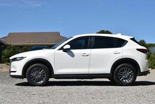 2017 Mazda CX-5 KE1022 Maxx SKYACTIV-Drive i-ACTIV AWD Sport White 6 Speed Sports Automatic Wagon