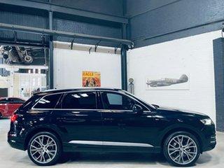 2016 Audi Q7 4M MY17 TDI Tiptronic Quattro Blue 8 Speed Sports Automatic Wagon.