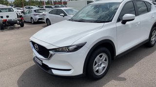 2017 Mazda CX-5 KF4WLA Maxx SKYACTIV-Drive i-ACTIV AWD White Pearl 6 Speed Sports Automatic Wagon