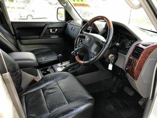 2003 Mitsubishi Pajero NP Exceed Silver 5 Speed Sports Automatic Wagon