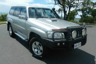2012 Nissan Patrol Y61 GU 8 ST Silver 5 Speed Manual Wagon.